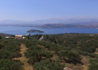 Views to Souda Bay and the White Mountains