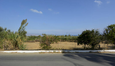 Plot within village in Maleme